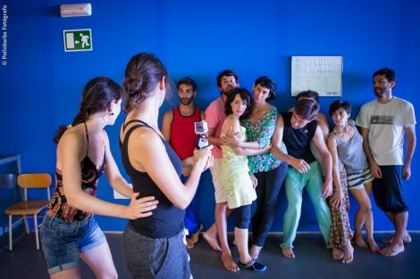 Masterclass de Videodanza impartida por Anita Cembrero Coca (LA IGNORANCIA - dance film music) para Costa Contemporánea en el Centro De Artes Escénicas de Níjar.